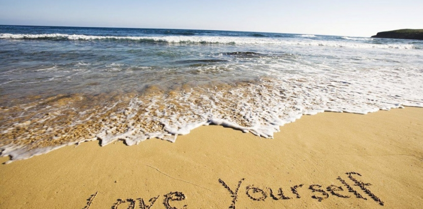 Love-Yourself-Beach-Sand-InJoy-Meditation-Travel